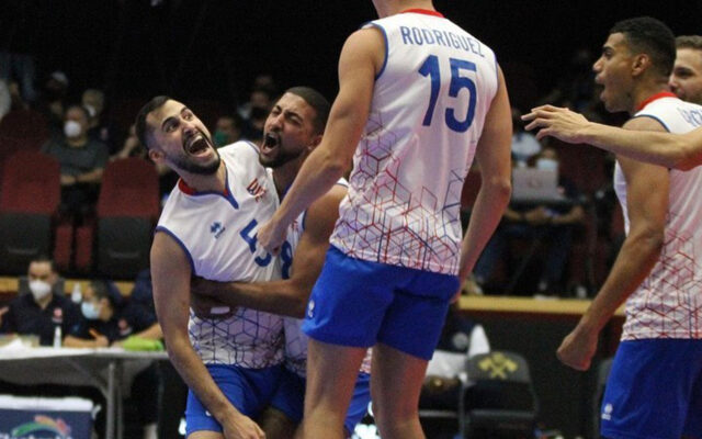 Nieves and Rodriguez Take Home NORCECA Gold With Puerto Rico